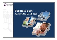 Business plan 2019-20 cover image