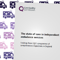 The state of care in independent ambulance services report cover image