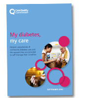 My diabetes, my care: Community diabetes care review