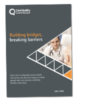 Building bridges, breaking barriers: Integrated care for older people