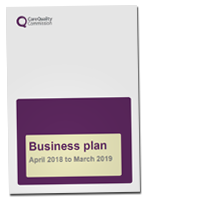 Business plan for 2018-19 cover image