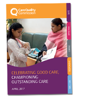 Celebrating good care cover image