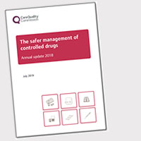 The safer management of controlled drugs 2018 cover