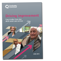 Driving improvement: Case studies from adult social care services cover image