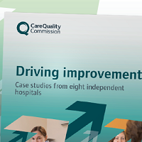 Driving improvement: Case studies from eight independent hospitals cover image