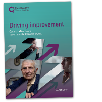 Driving improvement: Case studies from mental health trusts cover image