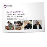 Equality and human rights – good practice resource cover image