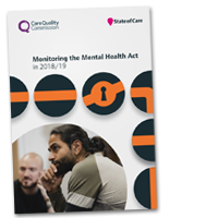 Monitoring the Mental Health Act cover image