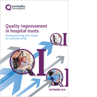 Quality improvement in hospital trusts cover image