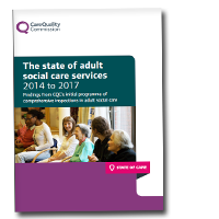 The state of adult social care services 2014 to 2017 cover image