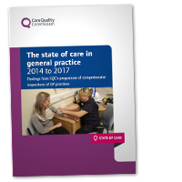 The state of care in general practice 2014 to 2017 cover image