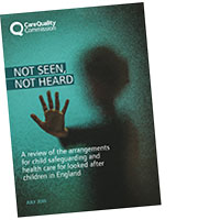 Cover for 'Not seen, not heard' report