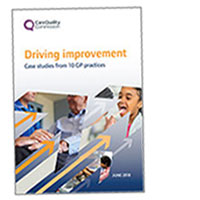 Driving improvement: Case studies from 10 GP practices cover image