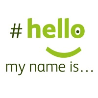 hello my name is logo
