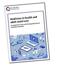 Medicines report cover, June 2019