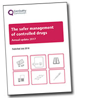Controlled drugs report cover