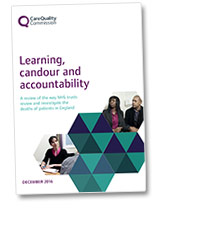 Front cover of Learning, candour and accountability