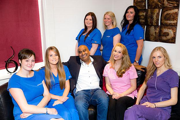 Staff at High Street Smiles dental practice Golborne, Warrington