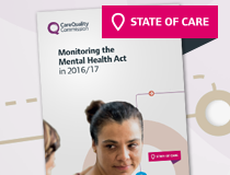 Monitoring the Mental Health Act in 2016/17