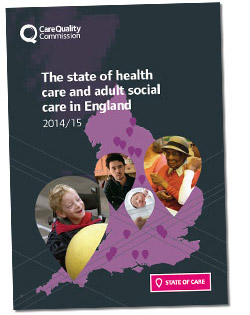 Cover of the State of Care 2015 report