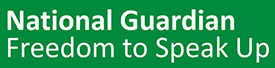 National Guardian Freedom to Speak Up logo