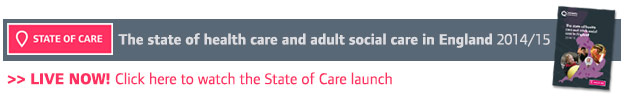 Watch the State of Care 2015 launch
