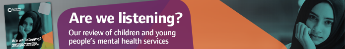 Are we listening? A review of children and young people's mental health services