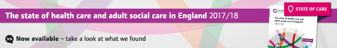 State of Care 2017/18: take a look at what we found