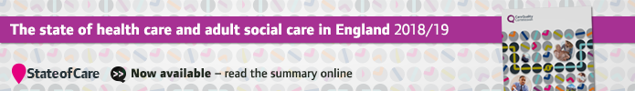 State of Care 2018/19 - read the summary online