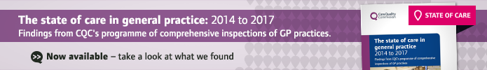 The state of care in general practice 2014 to 2017