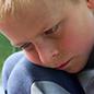 Thoughtful child image