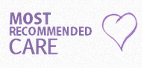 Most Recommended Care logo